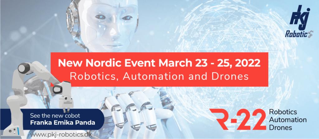 R22 Messe reklame - Franka Emika Panda | PKJ Robotics